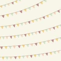 Wrapping Paper - Bunting