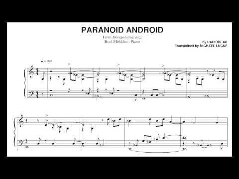 Brad Mehldau Paranoid Android Music Pinterest Music