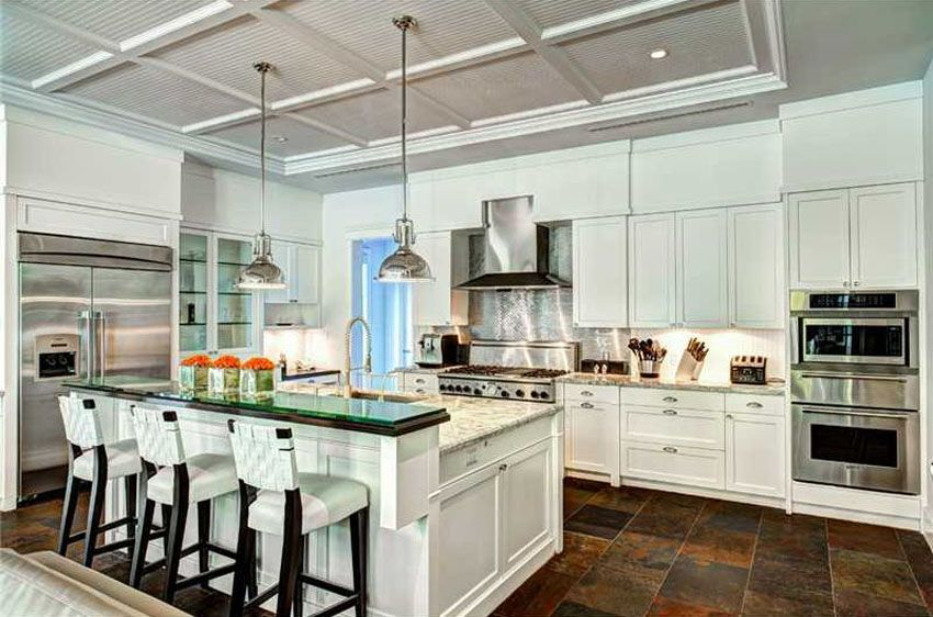 37 Gorgeous Kitchen Islands With Breakfast Bars (Pictures) | Slate ...