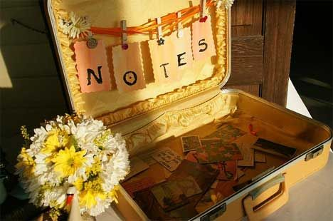 15 DIY Wedding Guestbook Alternatives: Real-Life Examples | Poptastic Bride
