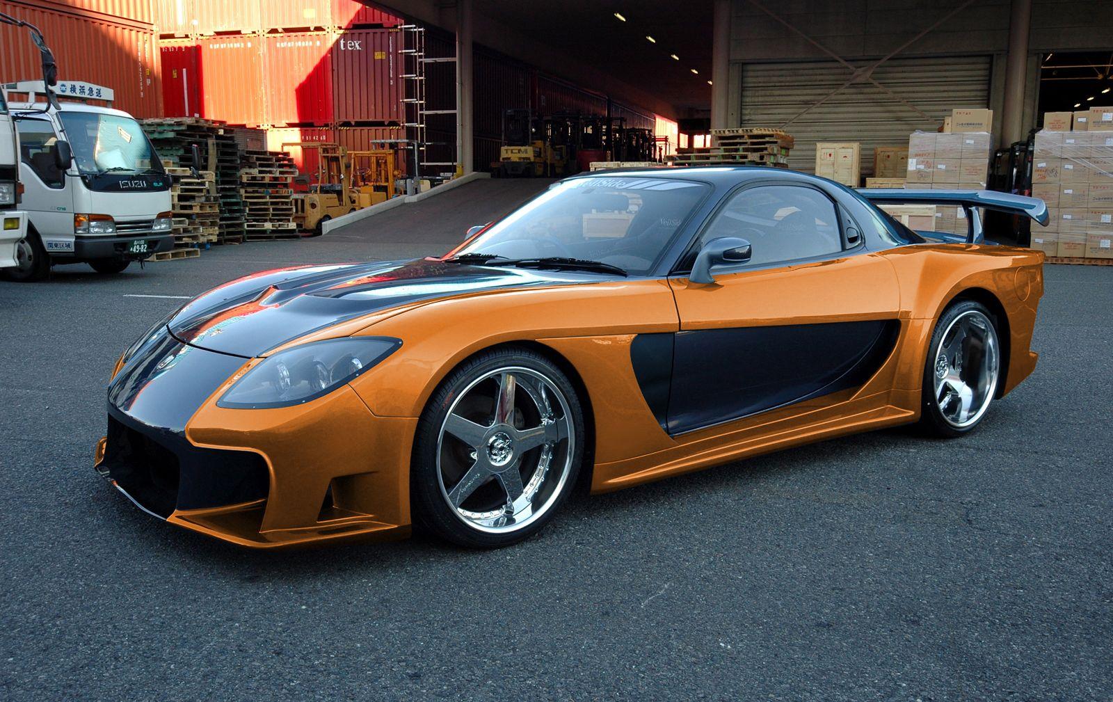 Mazda RX7 Fast and Furious   Mazda RX7 (Especial Japón)   Pinterest ...