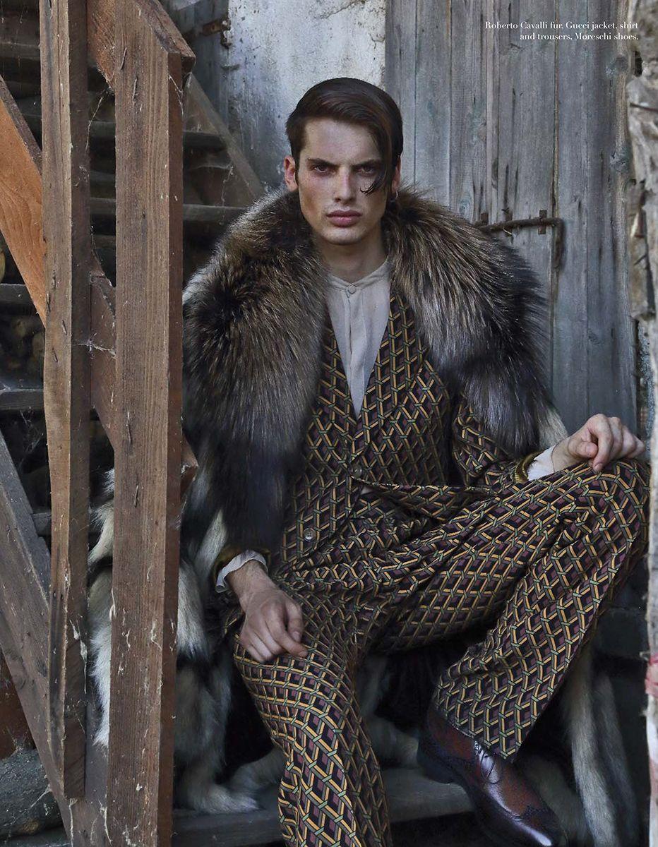 editorial for BOOK man n\'5 Fashion Editor: Luigi Gaballo ...