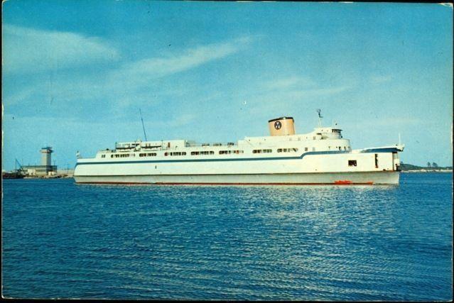 1950s Norfolk Va Chesapeake Bay Ferry Boat Princess Anne Jumbo Postcard Norfolk Virginia Virginia History Norfolk