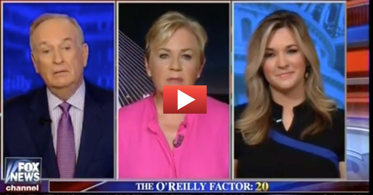 PAINFUL: O'Reilly Leaves Lib Literally Speechless After Proving Massive Media Bias