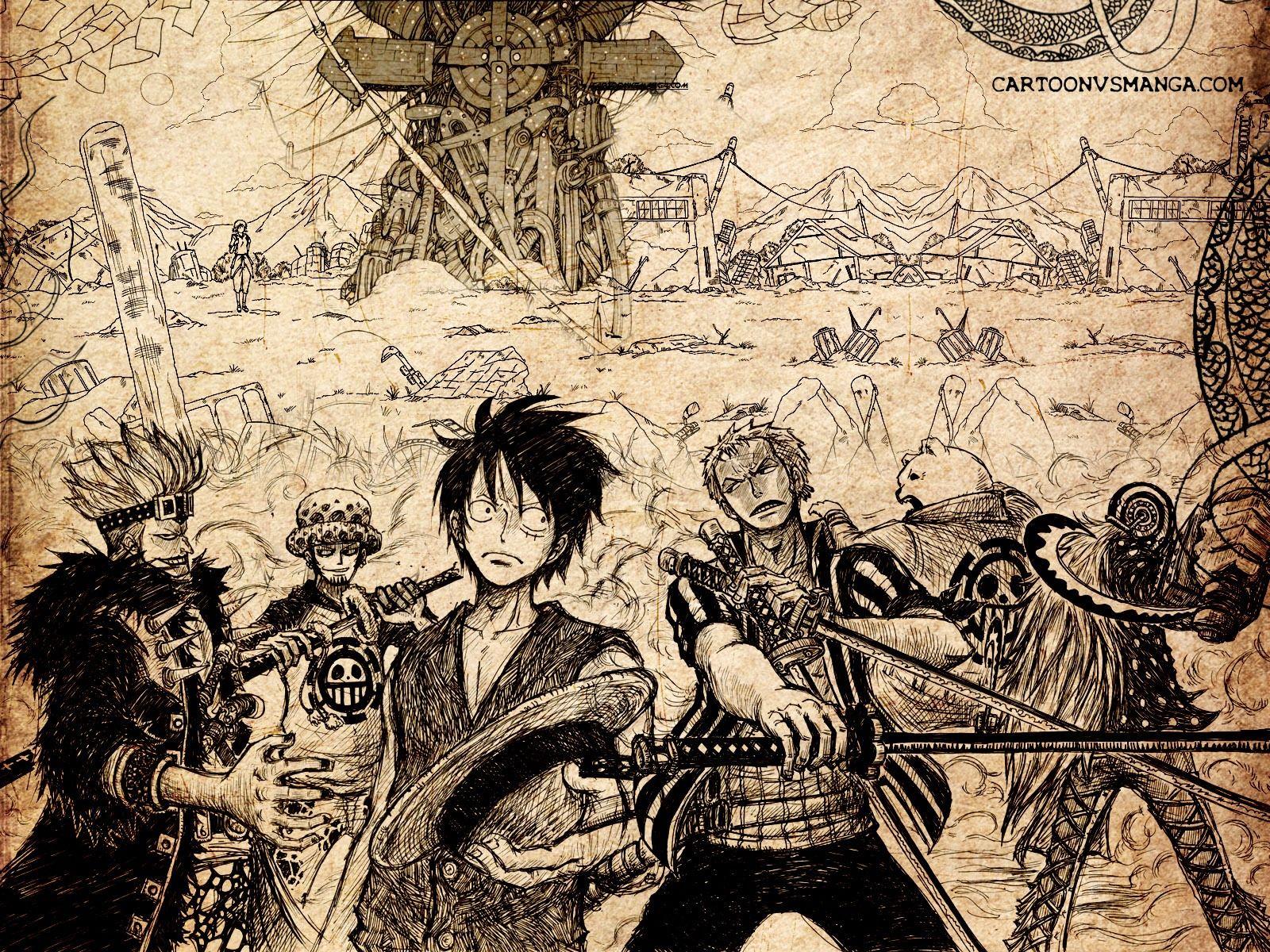 One Piece New World Wallpaper 1600x1200