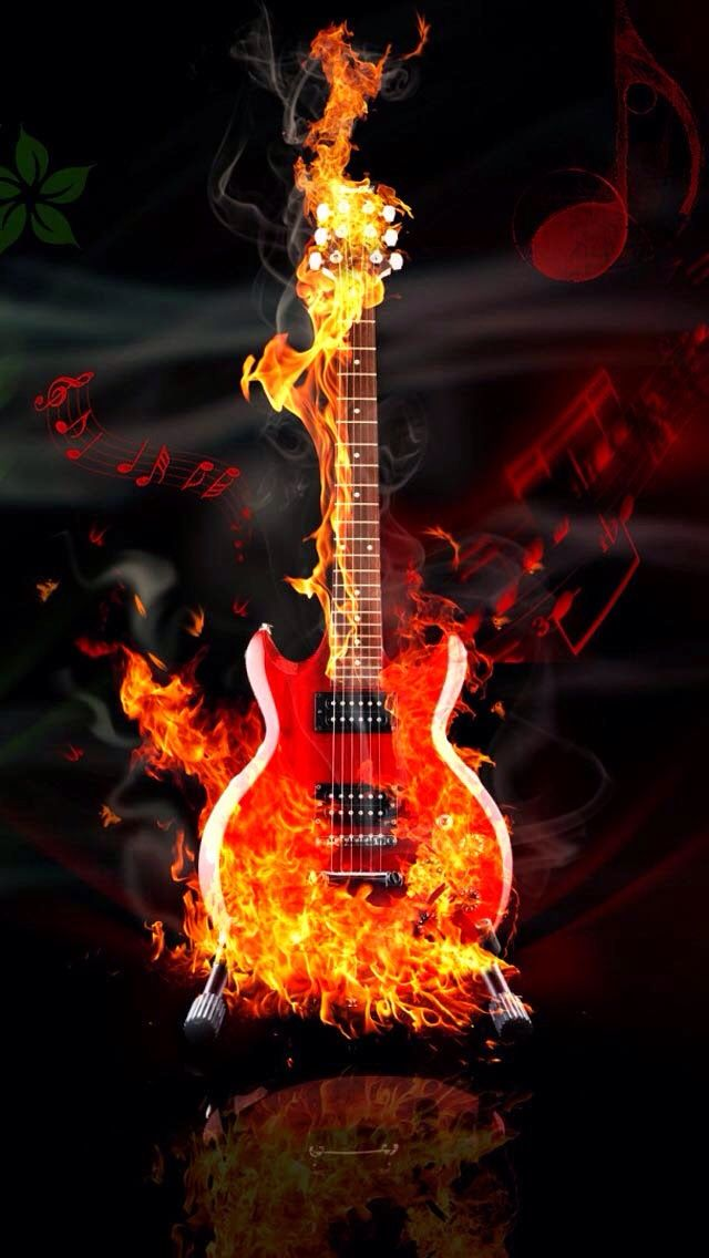Yay Amazing Guitar Wallpaper Art Music Wallpaper