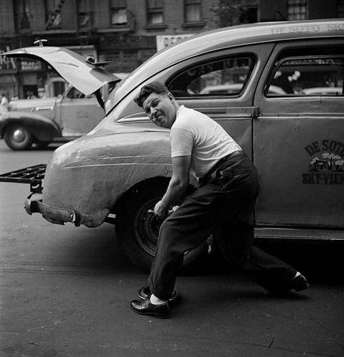 Photos by a young Stanley Kubrick, taken in the 1940's while employed by Look Magazine