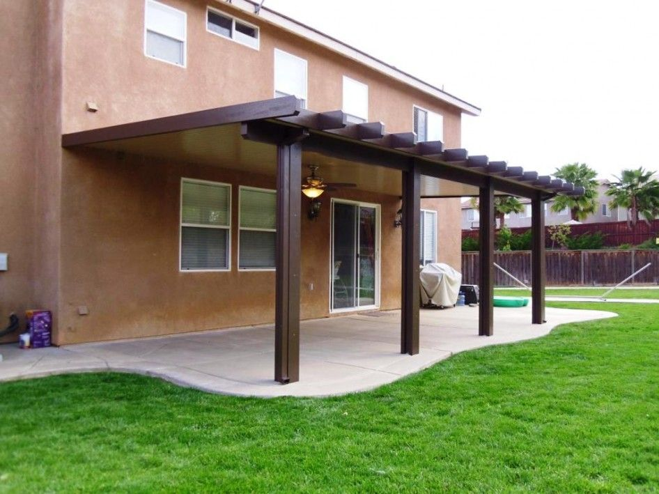 Great Exclusive Alumawood Patio Covers Awnings Canopies With Wood Pergolas Arbors  Kits And Oil Rubbed Bronze Ceiling