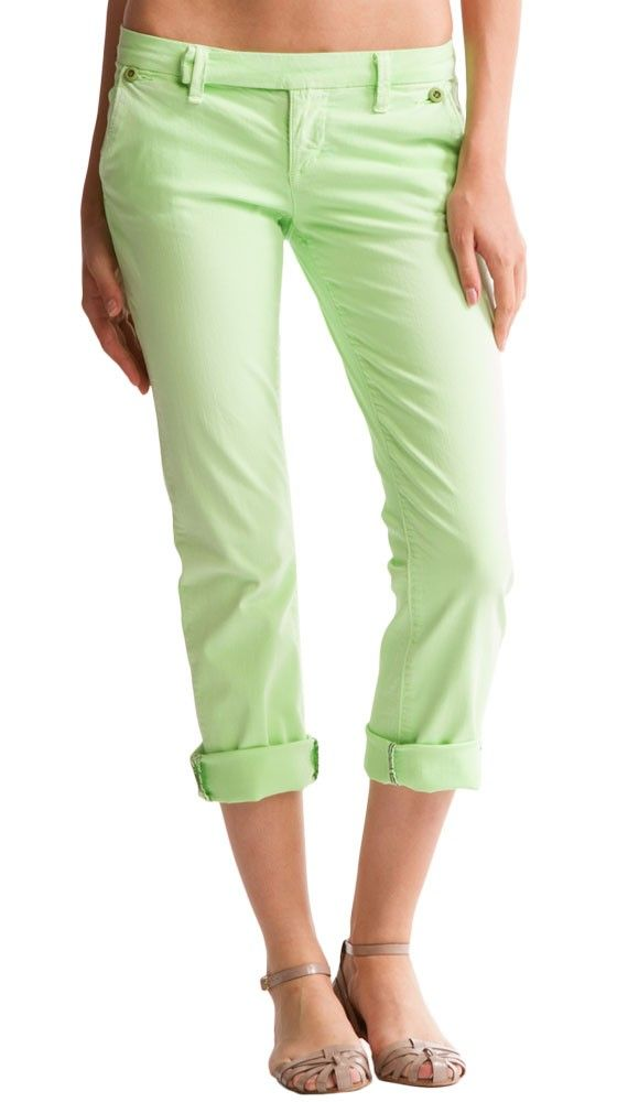 Cropped Lime pants