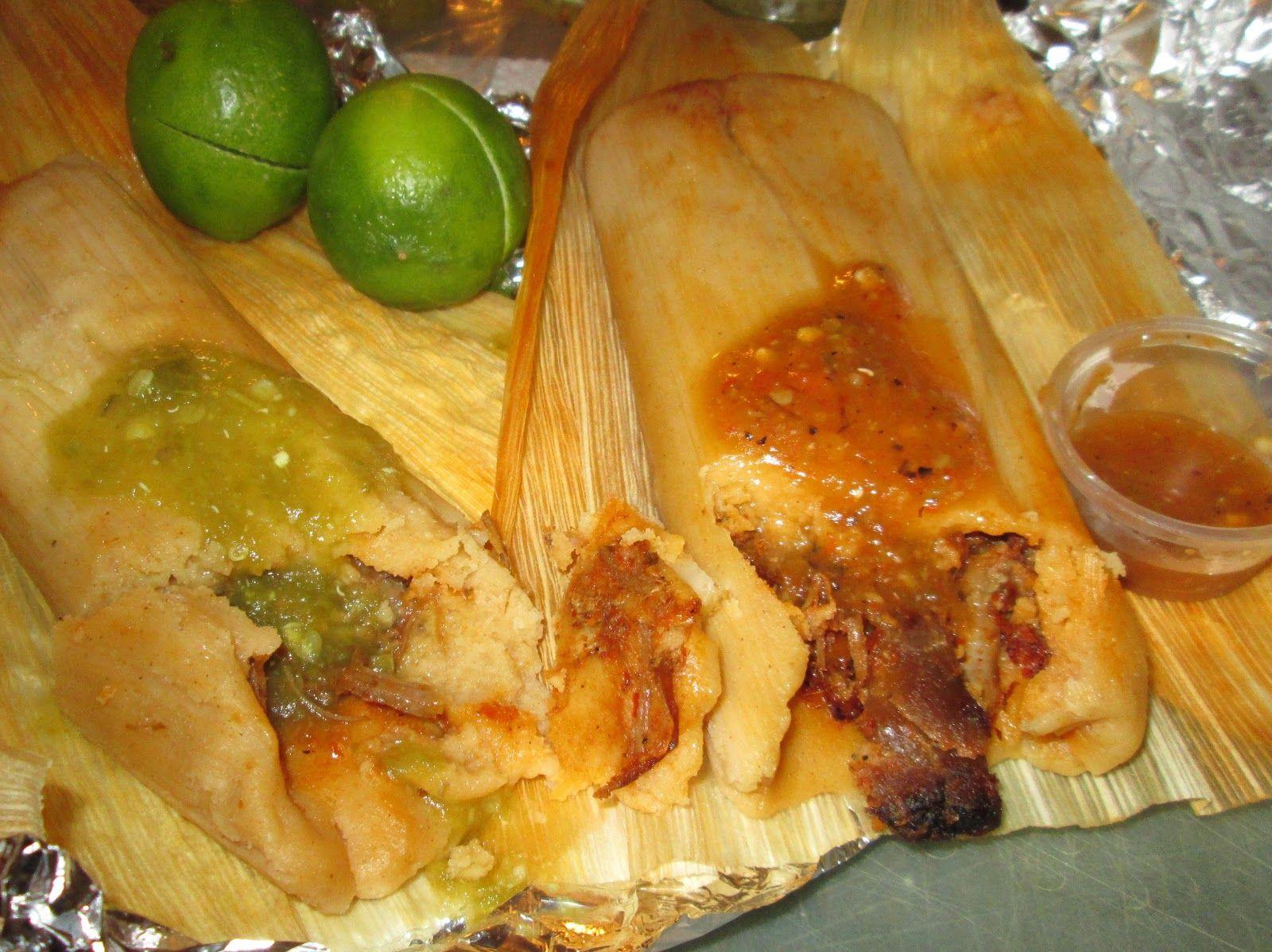 Tamales De Salsa Verde