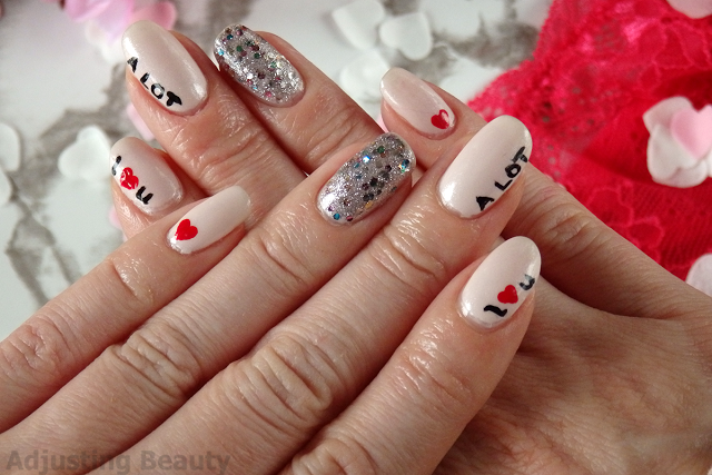 I Like You A Lot Nails (Valentine's Day)
