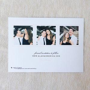 She and He Save the Date 03.jpg Invitacion de bodas con foto.
