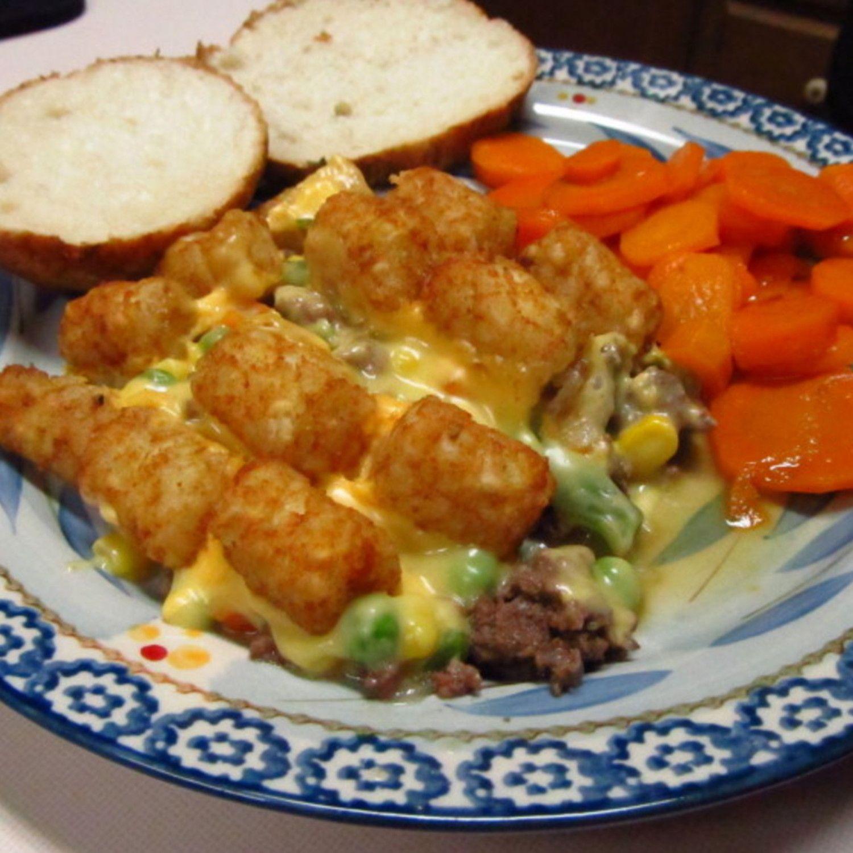 Moms best ever tatertot hotdish recipe dinner ideas for Best dinner ideas ever