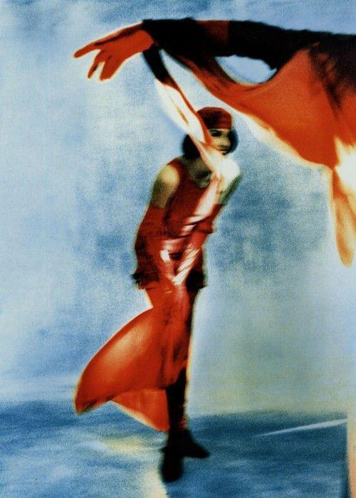 John Galliano, Red, 1988Photographer: Javier Vallhonrat    GALLIANO was HERE (Please RETURN)……….No.6