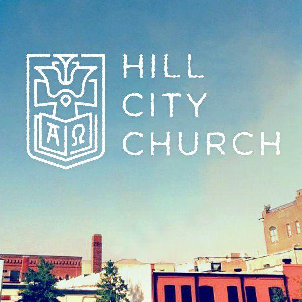 Hill City Church Rock Hill Sc Logo Mark Monoline Church Logo Church Rock Logo Branding Identity