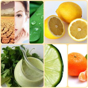 Eating for healthy skin.
