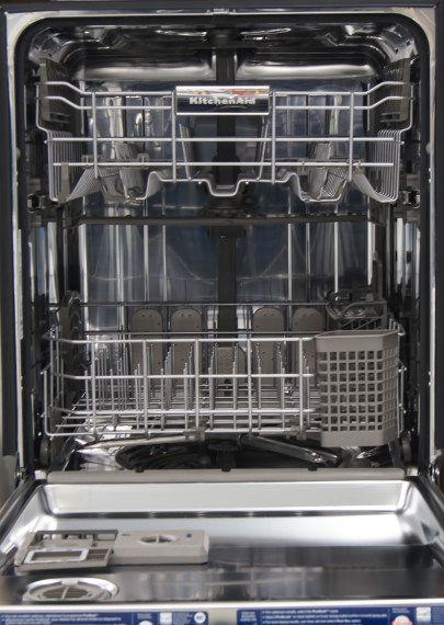 Kitchenaid Kdtm354dss Integrated Dishwasher Kitchen Aid