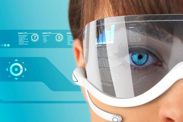 Google Glasses Augmented Reality Computer Screen Internet Android Based Navigation Cell Phone Google Glasses Smart Glasses Future Technology