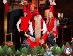 A wonderfully kitch Santa Claus experience in the centre of Helsinki
