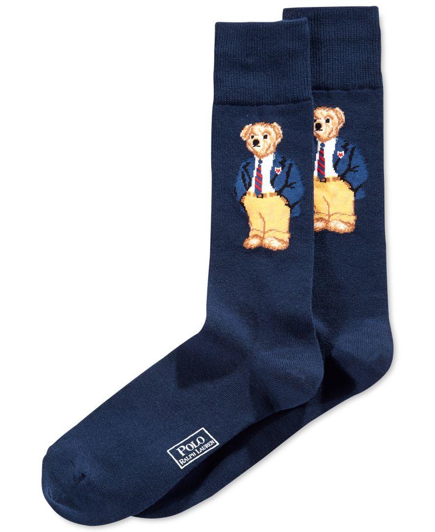 Ralph In Clothes Office Polo Lauren 2019 SocksPrep Bear tsQCdrh