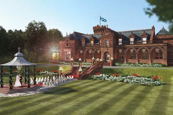 Today I Am Thrilled To Spotlight On Boclair House Hotel A Beautiful New Glasgow Wedding