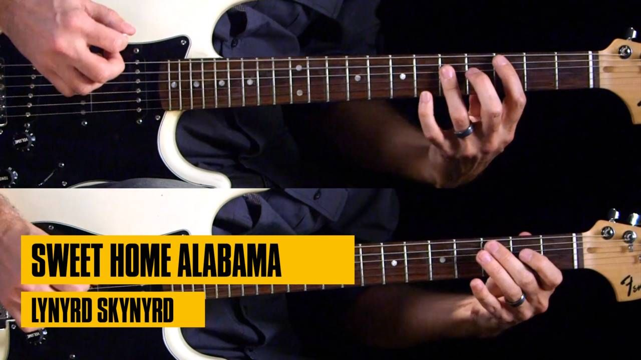 Guitar lessons sweet home alabama sweet home alabama
