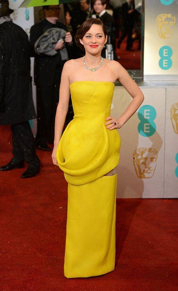 Marion Cotillard in Dior, BAFTAs 2013