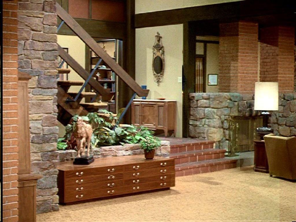 Brady Bunch Sunken Living Room Vintage Modern Living Room The Brady Bunch Vintage House