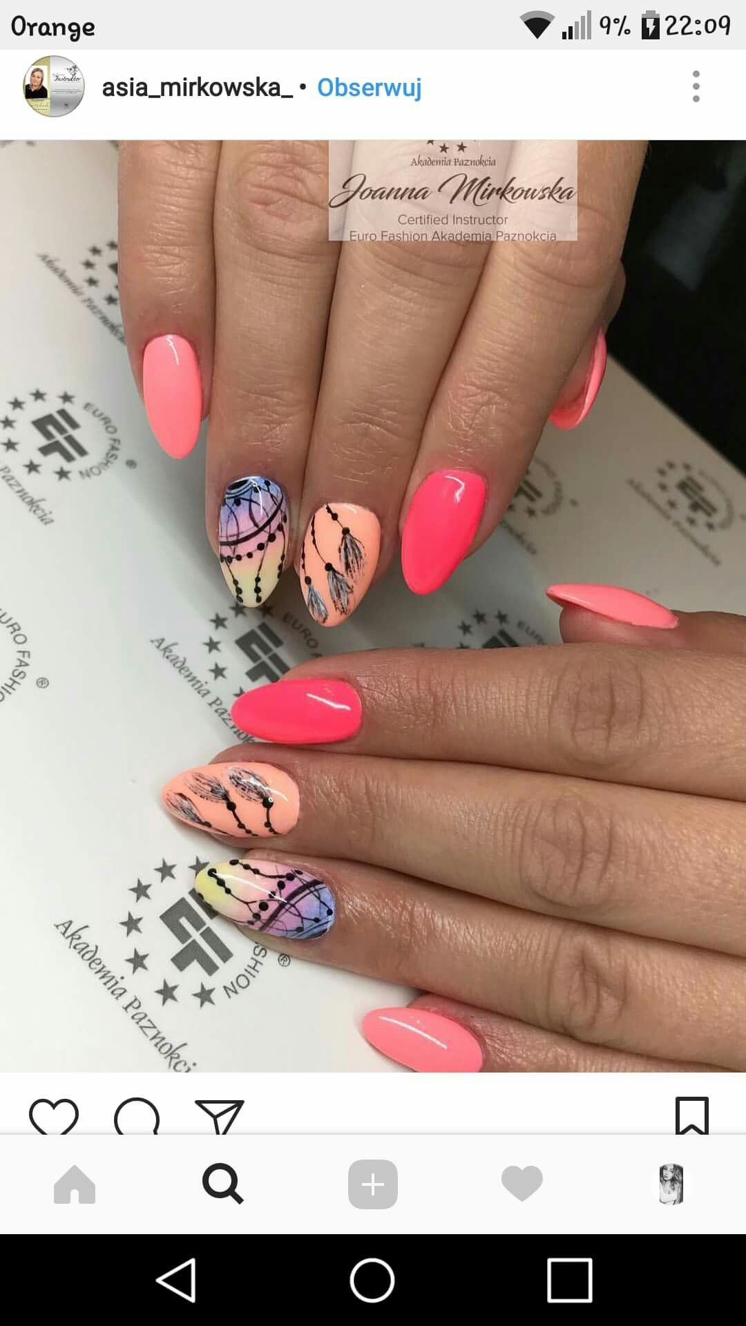 Pin By Angelique Rolland On Attrape Reve Nails Summer Nails