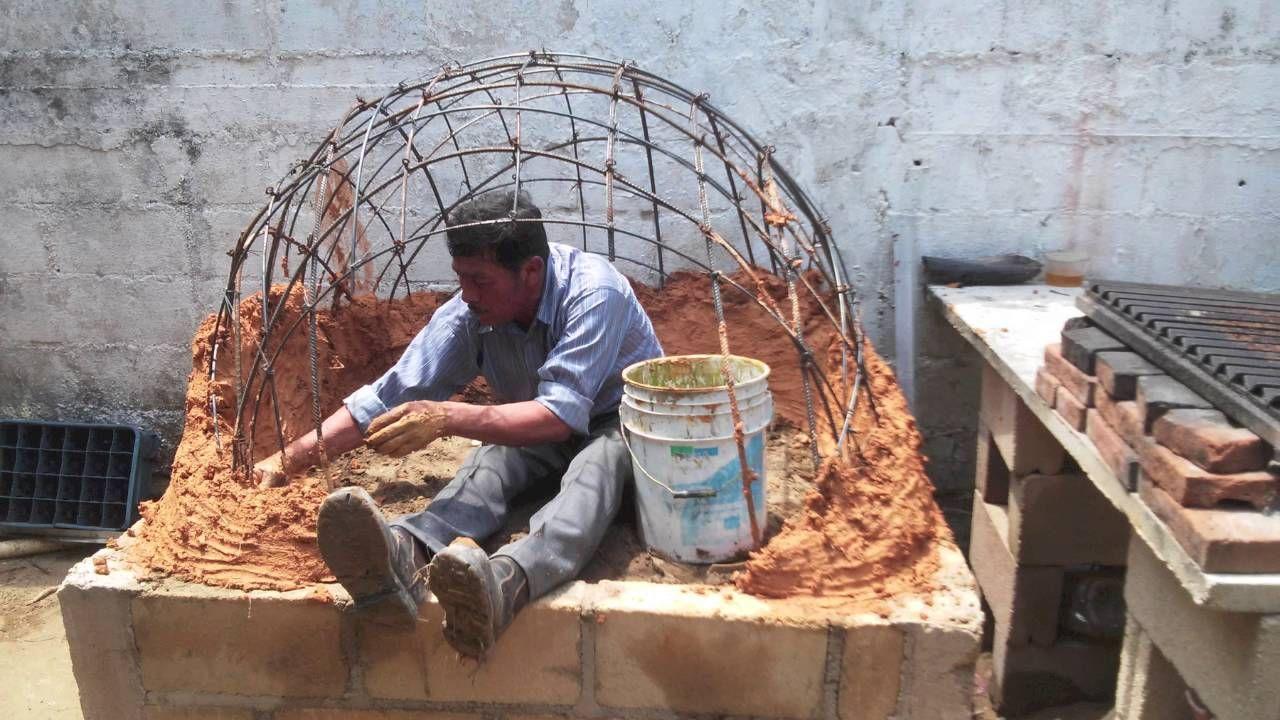 Horno de barro artesanal paso por paso hornos de barro - Materiales para hacer un horno de lena ...
