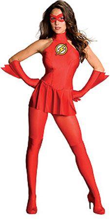 Disfraz Chica Flash Sexy. DC Cómics d0f4bbb3e81