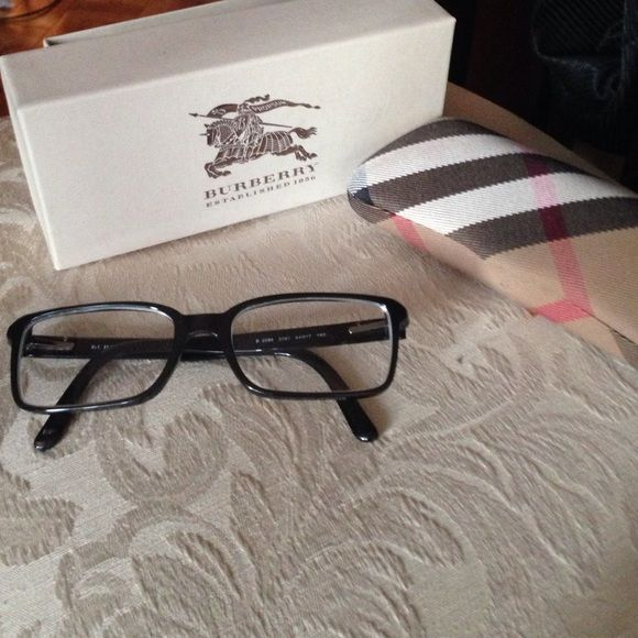 f3d8df6d69 authentic Burberry glasses 54017 These are prescription glasses but you can  always take the lenses out and put your own prescription in.