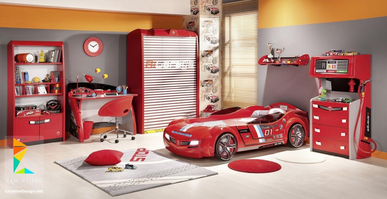 غرف نوم اولاد شباب أحدث موديلات غرف شبابي مودرن لوكشين ديزين نت Boys Bedroom Furniture Sets Toddler Bedroom Furniture Sets Cars Bedroom Set
