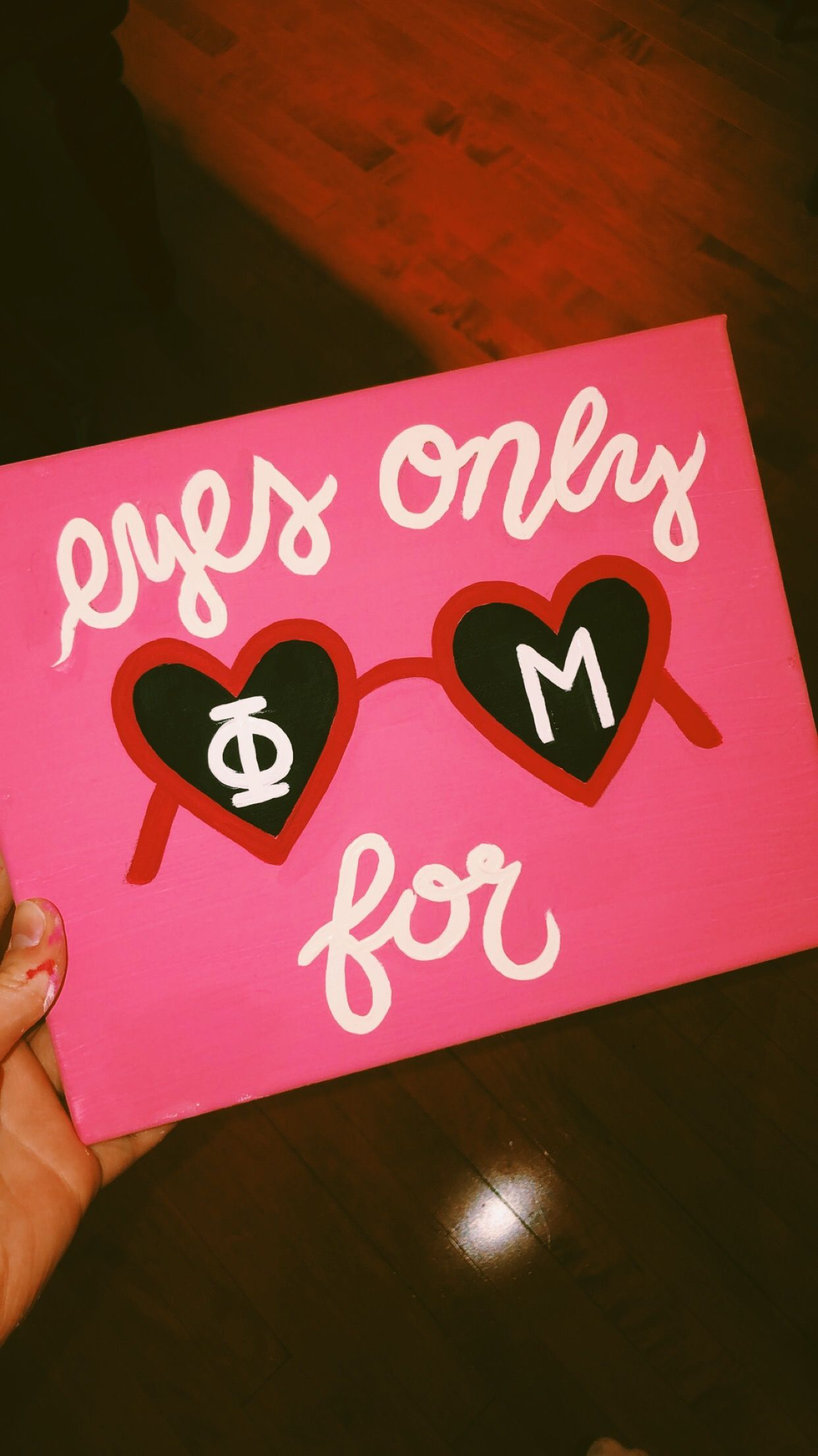 phi mu sorority canvas #biglittlecanvas