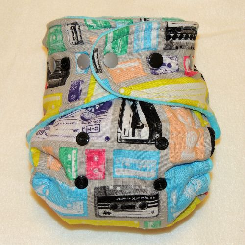 how to use hybrid cloth diapers