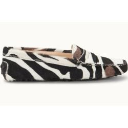 Photo of Tod's – Gommino Mokassin aus Leder, Schwarz,weiss, 38 – Shoes Tod's