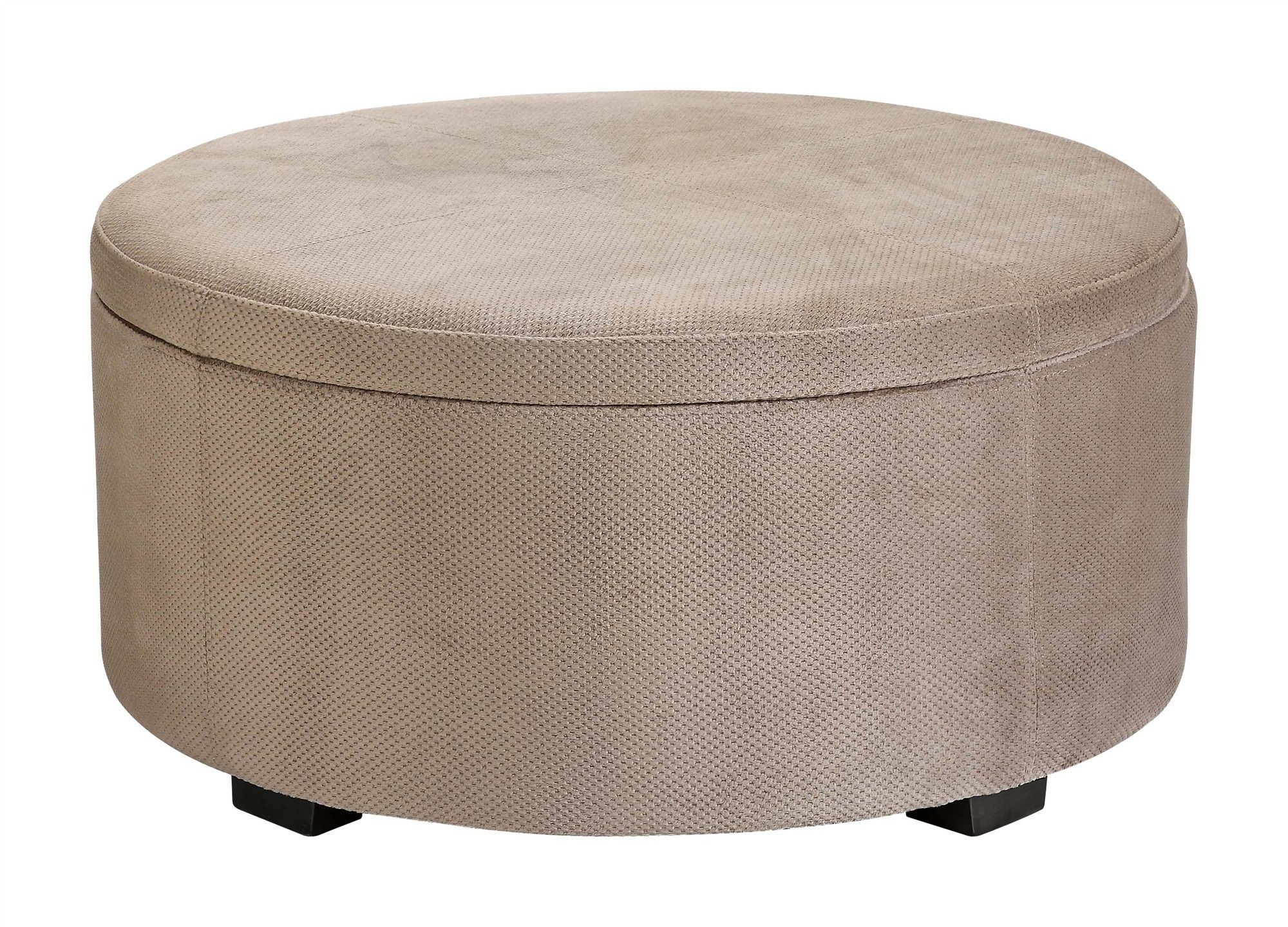 Astonishing Effigy Of Awesome Small Round Ottoman Furniture Dailytribune Chair Design For Home Dailytribuneorg