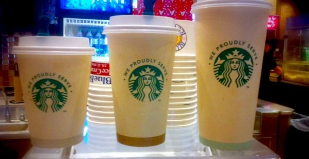 Mmm! We proudly brew #Starbucks at select Cinemark locations! @Starbucks Loves