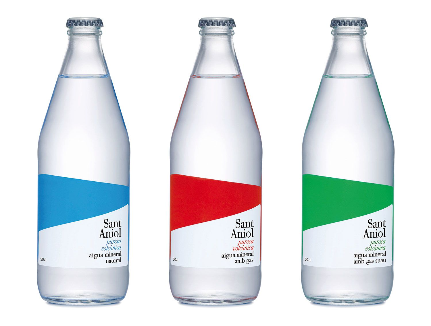 Aigua Sant Aniol Design By Temabcn Poster Logo Packaging