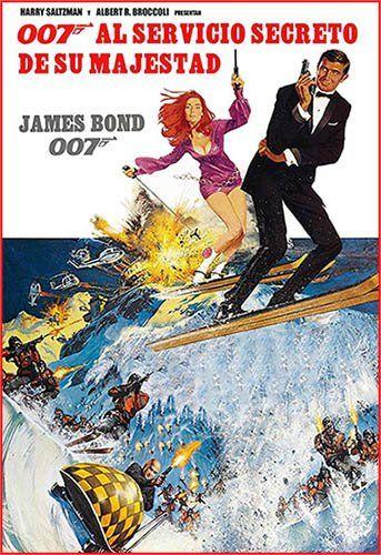 007 al servicio de su Majestad, On Her Majesty's Secret Service 1969 Con George Lazenby, Diana Rigg, Telly Savalas