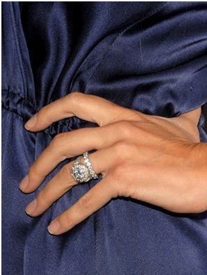 Ali Landry Engagement Ring Celebrity engagement and wedding rings