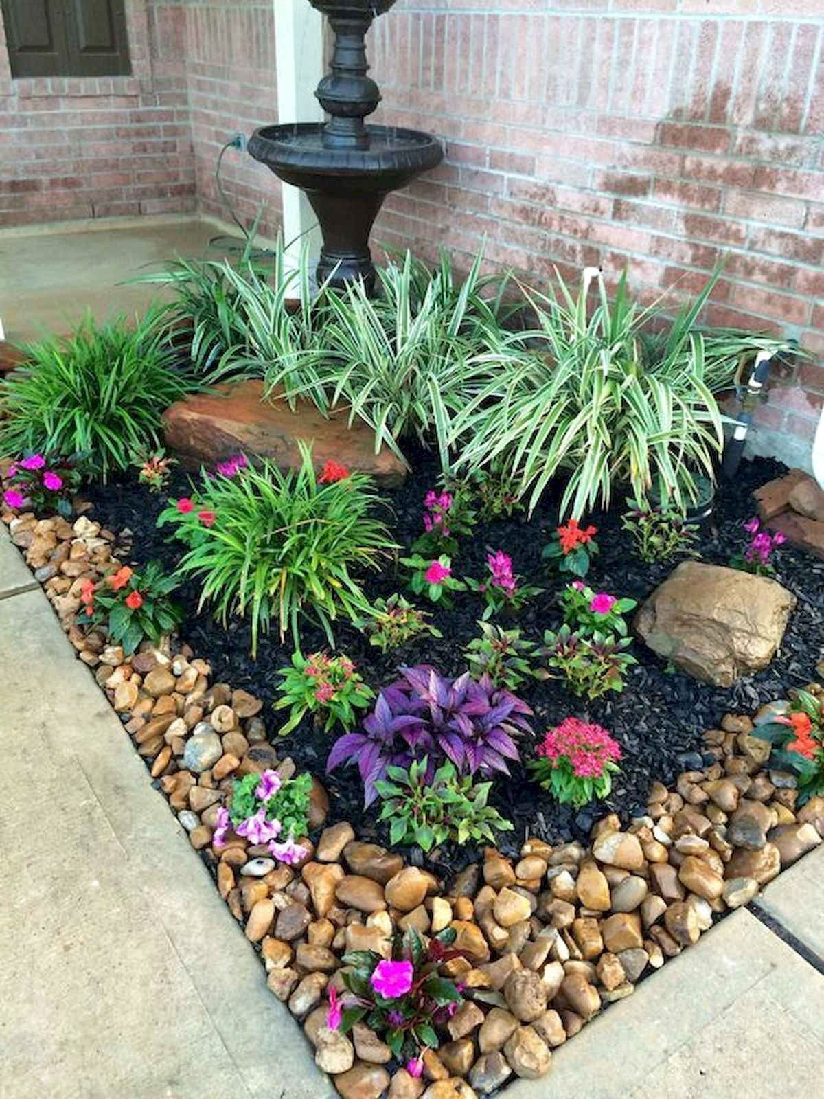 Awesome Spring Garden Decoration Ideas For Backyard Front Yard Front Yard Garden Design Front Yard Landscaping Design Garden Yard Ideas