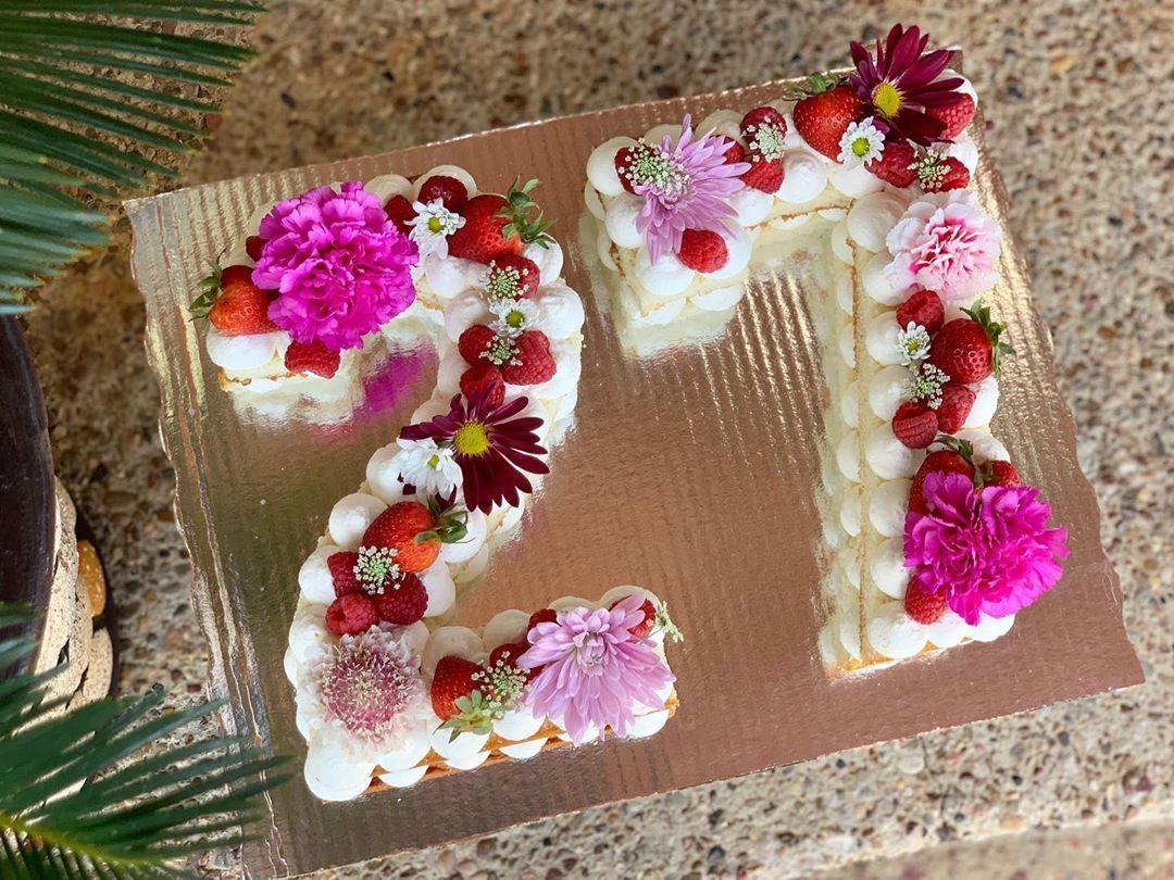 Number Cake 💕 #cake #cakedecorating #chocolate #birthdaycake #sweets #delicious #cakeart #cupcakes #dessert #bakery #instafood #yummy #sweet #instacake