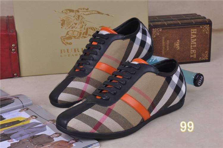 reputable site d5f5a 099fc Men Burberry Shoes