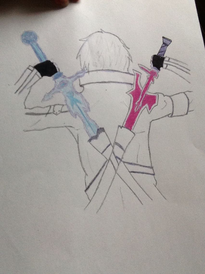 Kirito my drawings pinterest