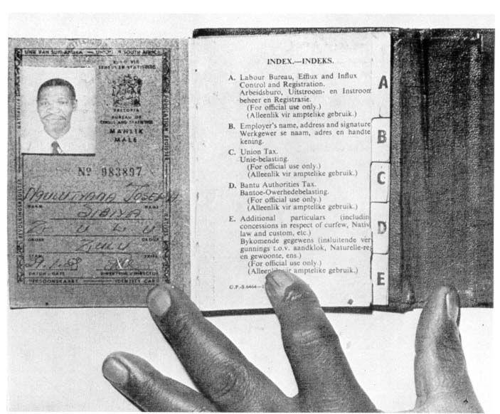 passbook | School of education, Passbook, African history