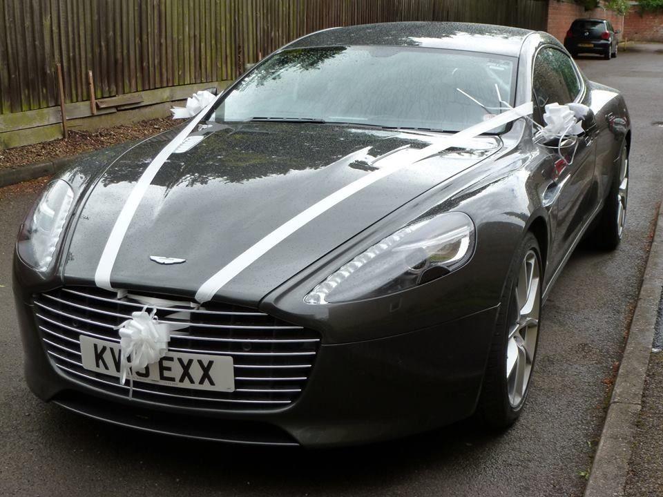 Wedding Decoration For An Aston Martin Hochzeit Autos