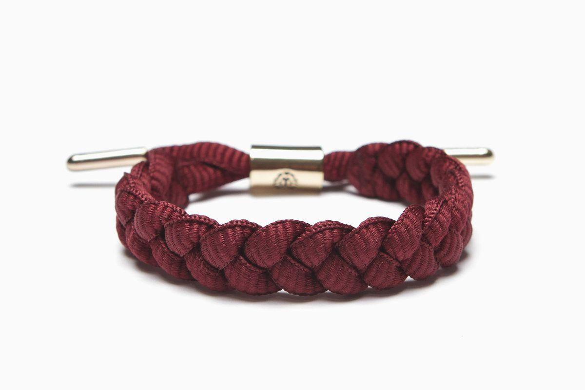 Merlot burgandy bracelet merlot by rastaclat accessoires