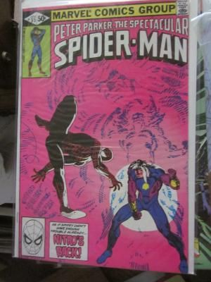Peter Parker The Spectacular Spider-man #55 FRANK MILLER art NM 1981 Free Shipping