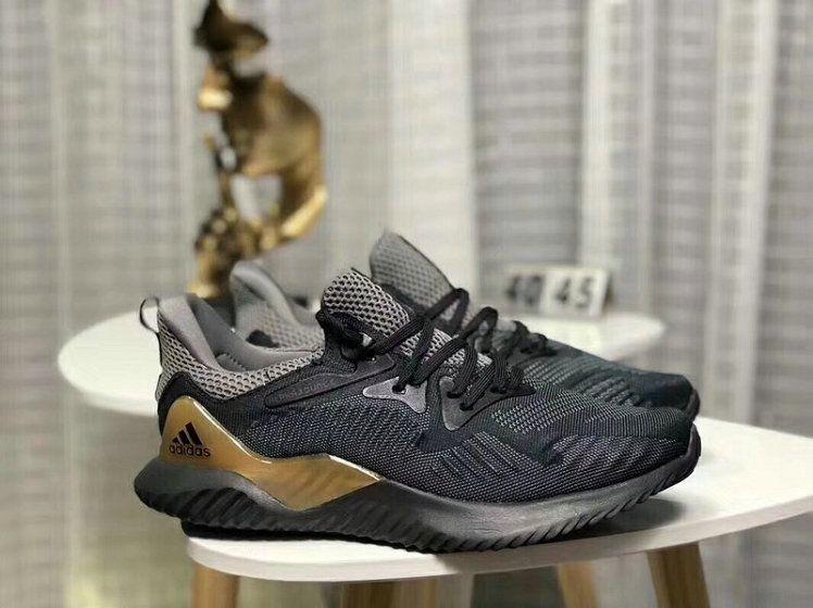 446c11c80259a Really Cheap Adidas AlphaBounce HPC AMS 3M Black Grey Shoe